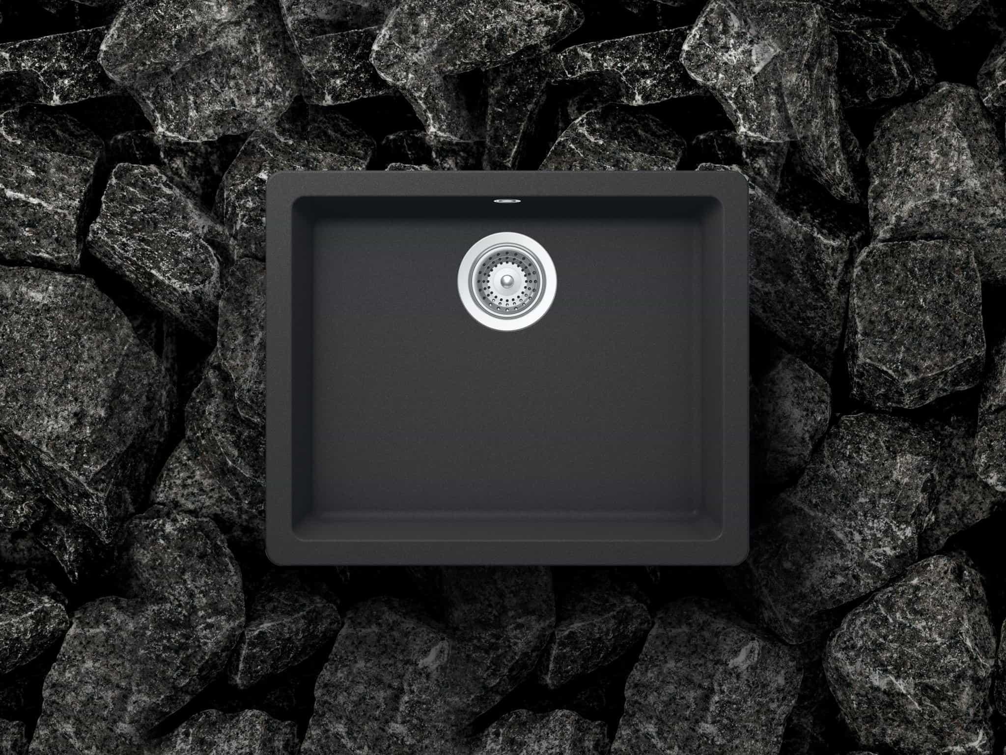 Chậu đá granite Häfele 100% sản xuất tại Đức với nhiều tính năng nổi trội: chống trầy, chống bám bẩn, chống va đập mạnh, chống mùi, độ bền cao và an toàn với thực phẩm.