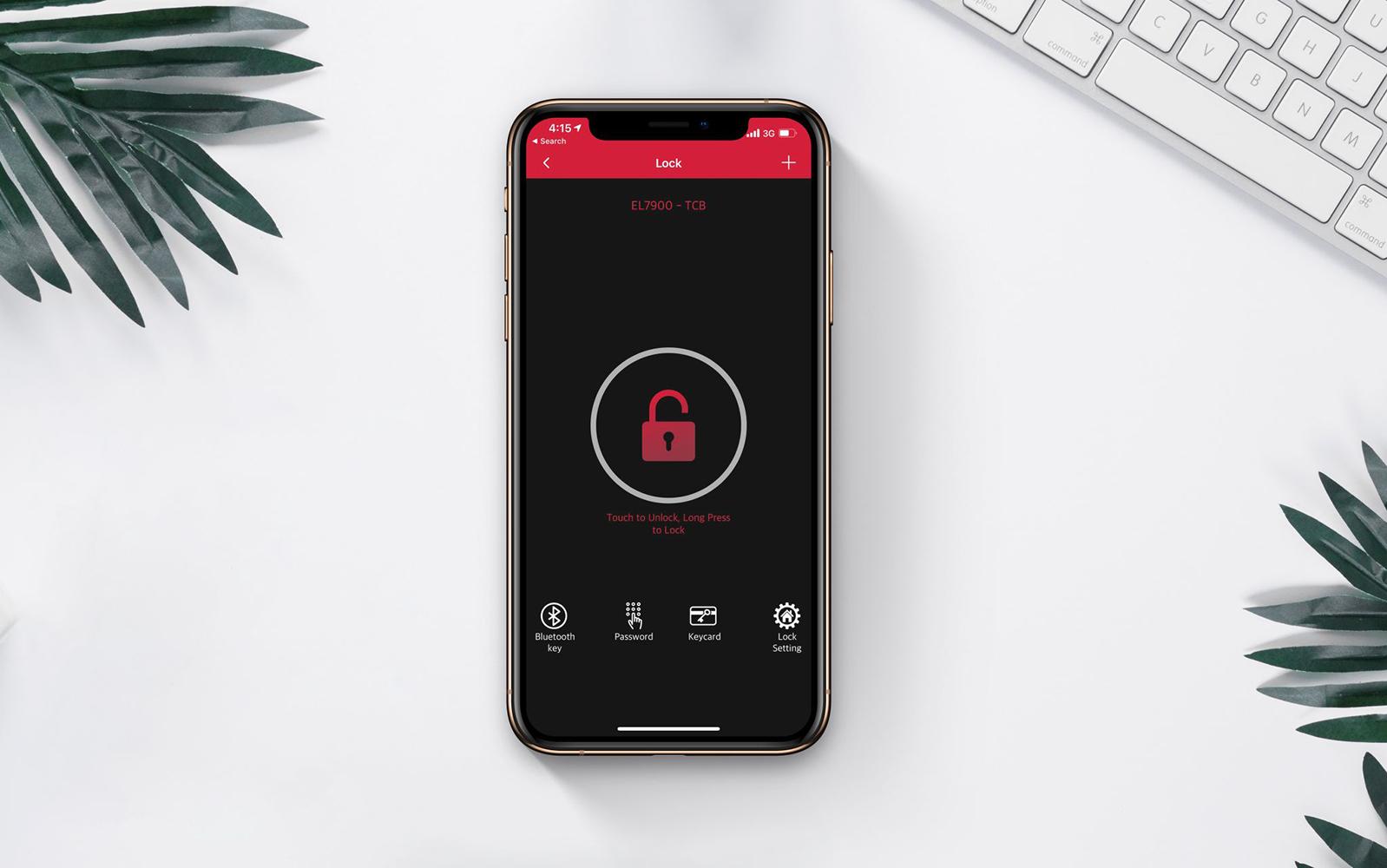 Ứng dụng Häfele Access kết nối với các khóa Bluetooth như EL7900, ER5900, giúp bạn quản lý nhiều khóa điện tử cùng lúc, tạo và gửi mật mã từ xa, kiểm tra lịch sử ra vào và mở khóa bằng Bluetooth mà không cần đến internet, tránh nguy cơ bị hack.